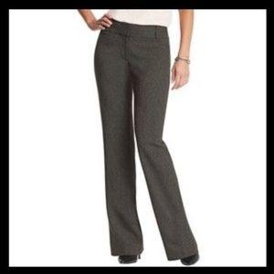 "ANN TAYLOR LOFT Gray ""Julie"" Dress Pant Trouser 12"